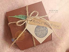 Krabičky - Krabička na betónové vajíčko - 7922246_