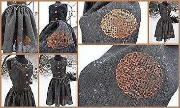 Šaty - s mandalkami - 7929220_