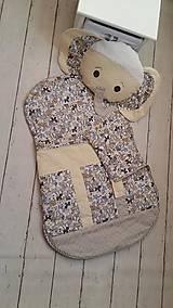 Textil - Vak na spanie SLONÍK s poduškou - 7926211_