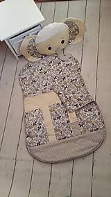 Textil - Vak na spanie SLONÍK s poduškou - 7926216_