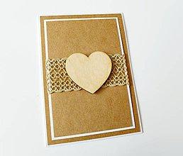 Papiernictvo - pohľadnica svadobná - 7926180_