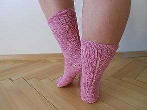 Obuv - Pletené ponožky Matilda - 7928365_