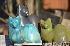 """Socha - Mačky """" jar na priedomí II ... . """" SET - 7929381_"""
