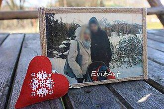 Rámiky - Fotografia na dreve - 7928388_