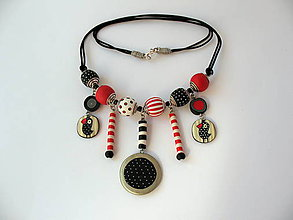 Náhrdelníky - náhrdelník,,Vtáčiky,, - 7927453_