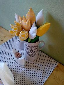 Dekorácie - kytica tulipánov - 7927363_