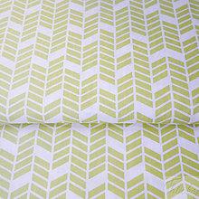 Textil - okrové šípky; 100 % bavlna Francúzsko, šírka 160 cm, cena za 0,5 m - 7929057_