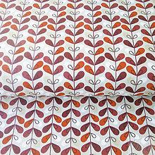 Textil - kvety; 100 % bavlna Nemecko, šírka 140 cm, cena za 0,5 m - 7929138_