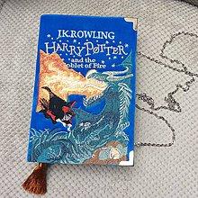 Kabelky - Kabelka v podobě knihy Harry Potter - 7929329_
