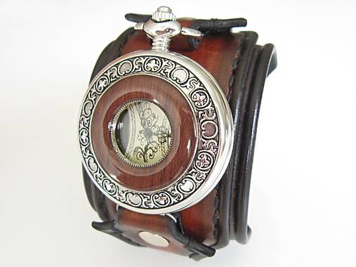 Štýlové hodinky pre chlapa   leon - SAShE.sk - Handmade Náramky 853fbf85b1