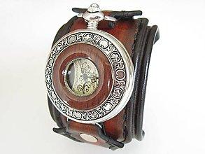 Náramky - Štýlové hodinky pre chlapa - 7929957_