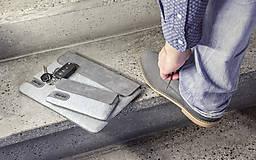 Na tablet - Tabletové plstené púzdro 10 palcové, sivé FELT - 7926590_
