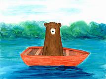 Obrázky - Bear on the boat, obrázok - 7926823_