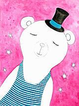 Obrázky - Dreaming bear, obrázok pre slečnu - 7926832_