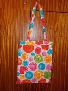 Detské tašky - Taška gombíková - 7926195_