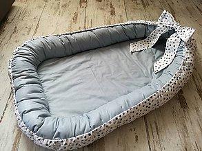 Textil - Hniezdo pre bábätko veľké =120 x 70 - 7927602_