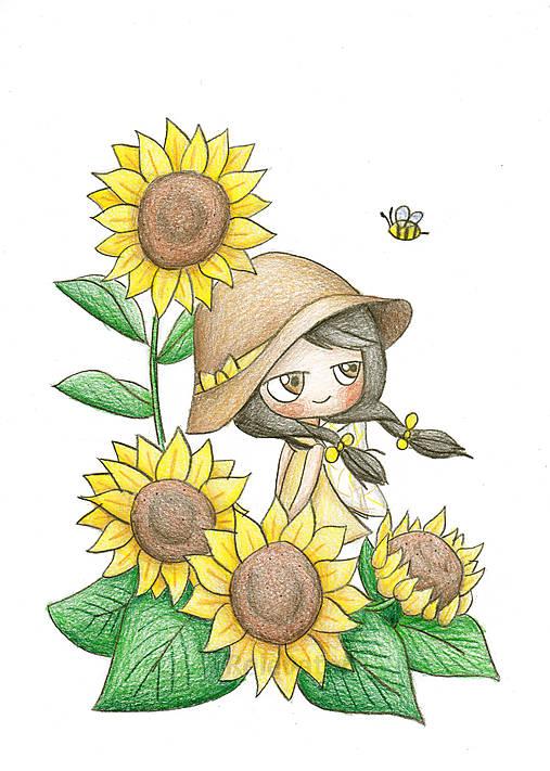 Slnečnicová Silvia - jarná víla
