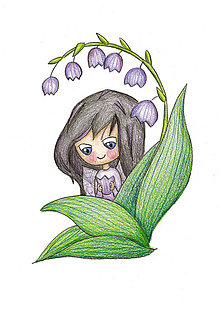 Kresby - Jarné víly (Zvončeková Viola) - 7929905_