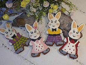 Dekorácie - Veľkonočný zajac  - 7931863_