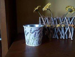 Nádoby - levanduľový kvetináč - 7930379_