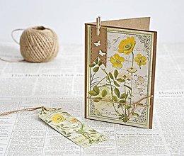 Papiernictvo - Natur pozdrav - Botanical II - 7930516_