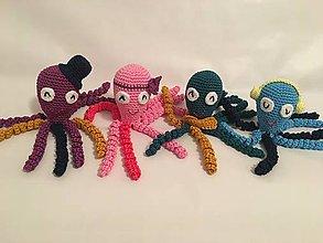 Hračky - Chobotničky pre predčastniatka / Octopus for preemies (Podľa vlastného výberu) - 7932783_