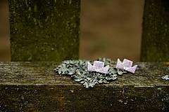 Náušnice - Parníčci perleťoví - 7933351_