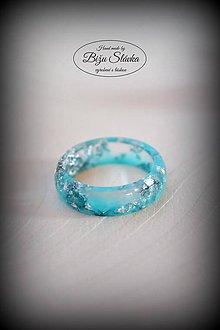 Prstene - Prsteň Striebro v bystrine (2139 A) - 7933008_