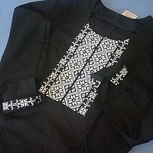 Košele - vyšívaná košeľa Claudia - 7934023_