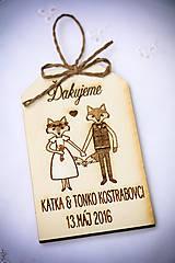Darčeky pre svadobčanov - Darček pre svadobčanov - 7933053_