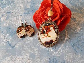 Sady šperkov - Červenovláska - ZĽAVA zo 6,90 eur - 7931491_
