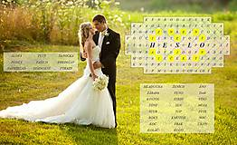 Grafika - Svadobná osemsmerovka podľa Vašich predstáv - 7932189_
