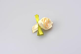 Pierka - Pierko krémové ruža (krémovo-zelené) - 7931355_