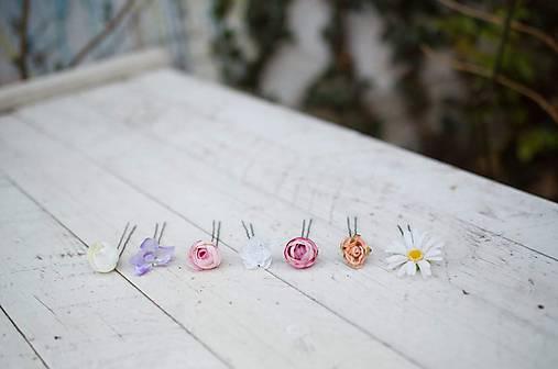"""Vlásenky """"vlasy plné kvetín"""""""