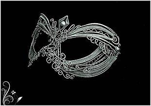 Dekorácie - Maska - 7932129_