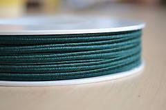Šujtášová šnúrka emerald 3mm, 0.25€/meter
