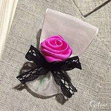 Pierka - Svadobné pierka Folk - sýto ružové - 7930225_