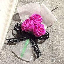 Pierka - Veľké svadobné pierka Classique - Folk: sýto ružové - 7930227_