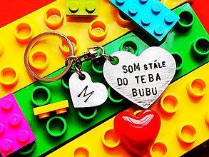 Kľúčenky - SOM DO TEBA! - 7938539_