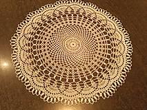 Úžitkový textil - Háčkovaná dečka 2. - 7935408_