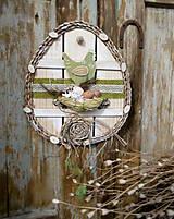 Závesná dekorácia: Veľkonočné vajíčko