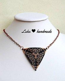 Náhrdelníky - Ornament náhrdelník - 7935511_