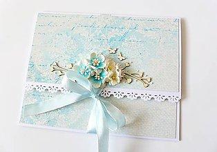 Papiernictvo - darčeková obálka svadobná - 7935722_