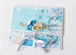 Papiernictvo - darčeková obálka svadobná - 7935746_