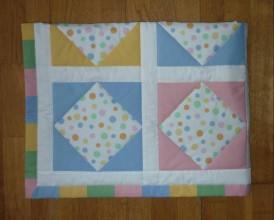 Textil - Deka pre deti - dva varianty (PASTELOVÉ BODKY) - 7927030_