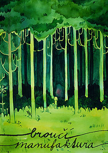 Grafika - v lese - 7936761_