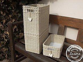 Krabičky - Úložné krabičky 20x30x50 a 20x30x12 - 7937544_