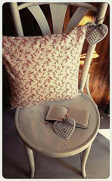 Úžitkový textil - Obliečka na vankúš Kvietky - 7935551_