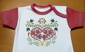 Detské oblečenie - Na slovenskú nôtu - 7936950_