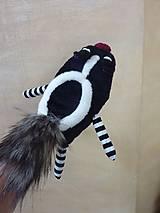 Hračky - Skunk maňuška - 7937888_